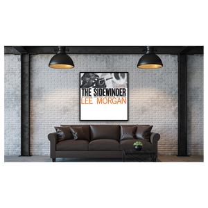 Lee Morgan - The Sidewinder Framed Canvas Wall Art