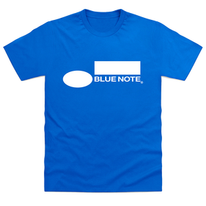 Blue Note Logo T-Shirt Blue Note Blue