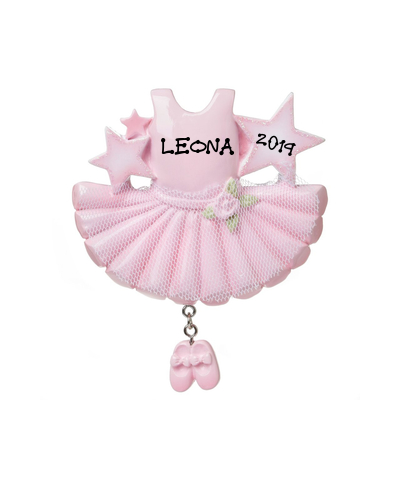 Personalized Ornament: Ballerina Outfit