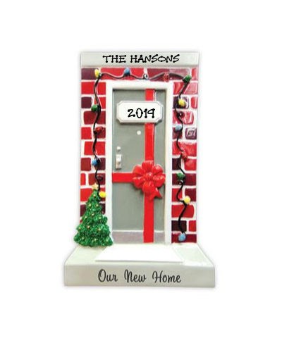 Personalized Ornament: Our New Home