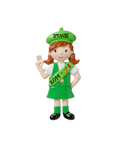 Personalized Ornament: Girl Scout