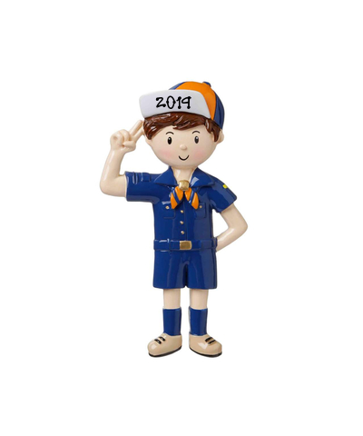 Personalized Ornament: Cub Scout