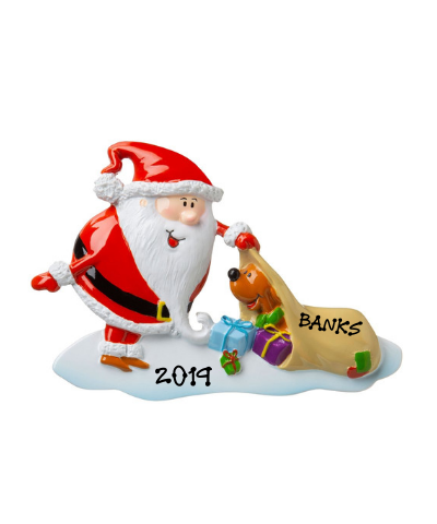 Personalized Ornament: Santa's Little Helper