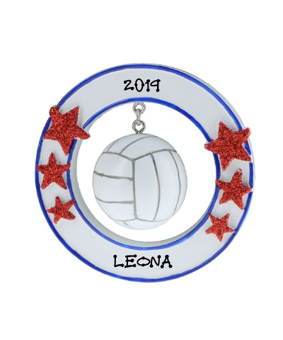 Personalized Ornament: Volleyball
