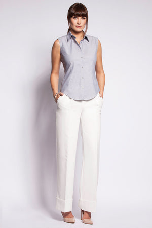 Oxford Grey Sleeveless - PollyB International