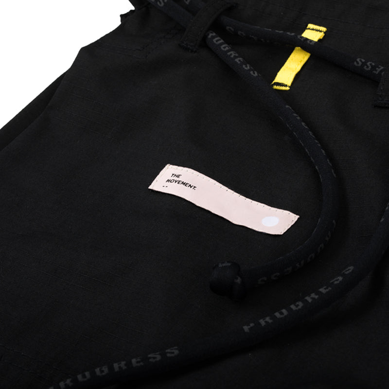 Progress Movement Black Gi Pant Logo