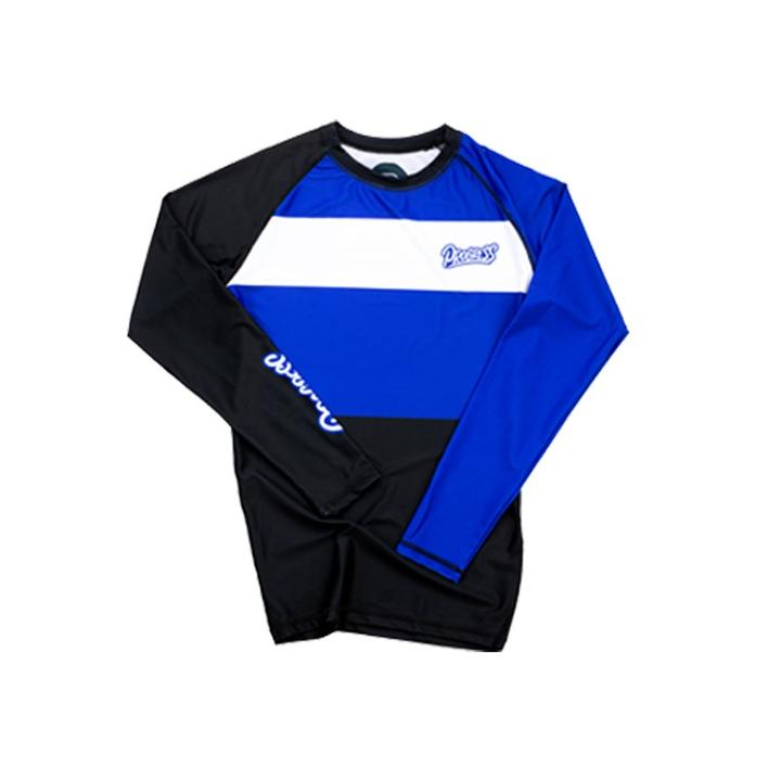 Ranked Rashguard 2.0 - Blue
