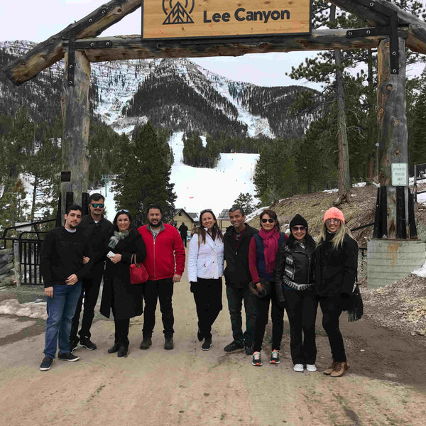 MOUNT CHARLESTON E LEE CANYON  (PASSEIO NA NEVE)