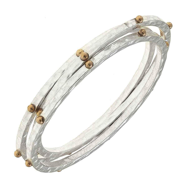 Josie Bangles In Two Tone