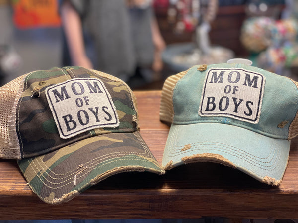 Mom of Boys Hat