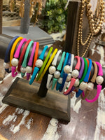 Pearl Silicone Bracelets