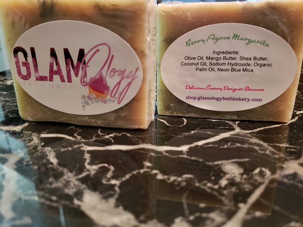 Berry Agave Margarita Soap