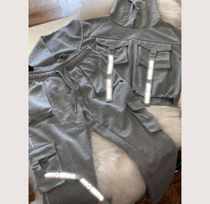 Reflective Stylish Jogger Set