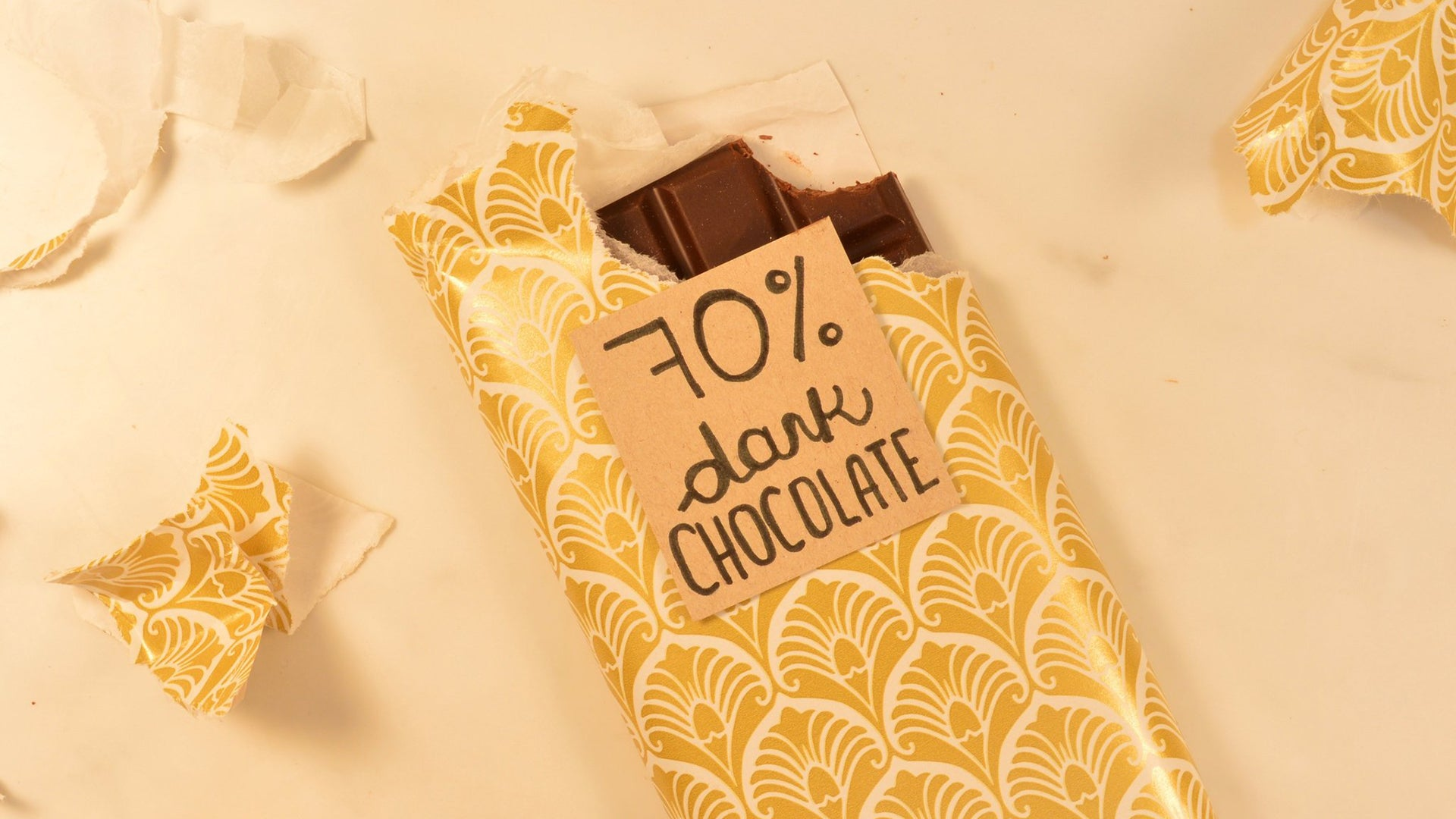 Dark Chocolate Without Added Cocoa Butter