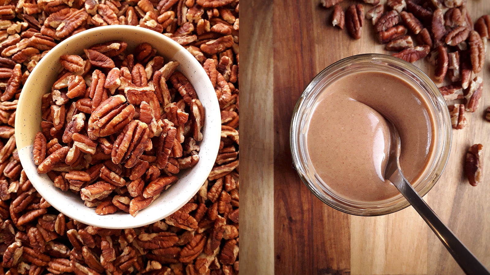 Maple Pecan Cashew Butter