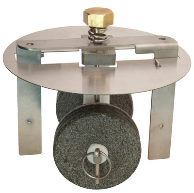 Premier Tilting Chocolate Refiner Stainless Steel small Stone Holder