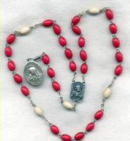 5 Holy Wounds Devotion Prayer Chaplet Beads CH12