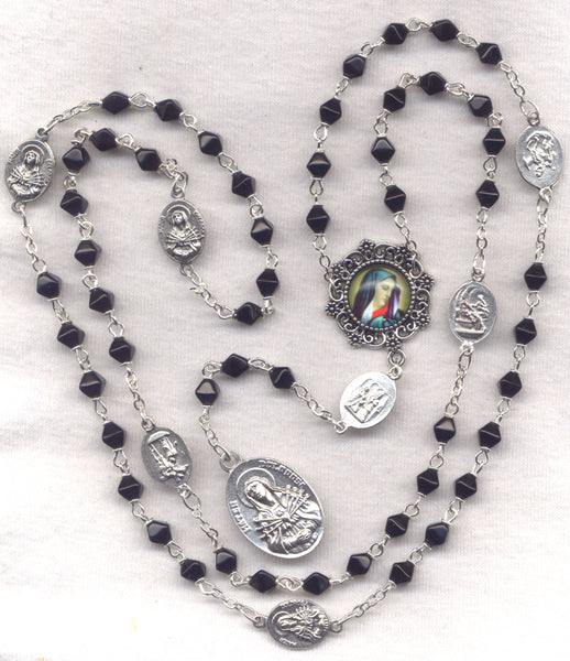 7 Sorrows Servite Rosary Our Lady of Seven Sorrows 7S04