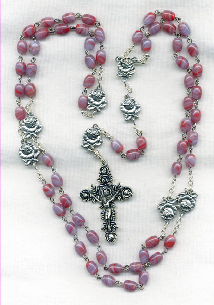 Brigittine Rosary Rose Our Fathers and Crucifix BR01