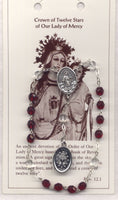 Our Lady of Mercy Crown of Twelve Stars Novena Beads  CH03