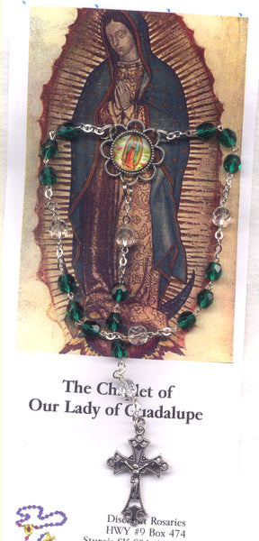 Our Lady of Guadalupe Novena Beads Juan Diego CH06