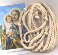 Cord of St Joseph Devotion to his Seven Joys and Sorrows each