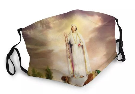 Our Lady of Fatima Washable Face Mask MK23