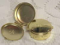 Gold Communion Pyx Econo model