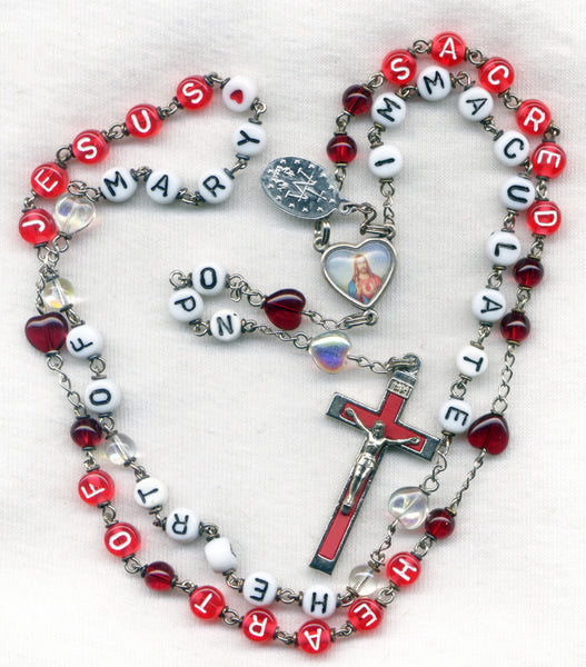 Sacred Heart Immaculate Heart Message Rosary M01