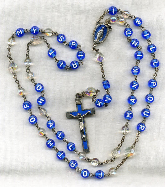 Holy Spirit Quote Message Rosary M06