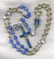 Come Holy Spirit Pearl Message Rosary M09
