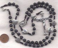 Our Lady of Fatima Cord Rosary Necklace NCK04F