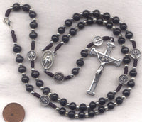 Miraculous Medal Cord Rosary Necklace NCK04M