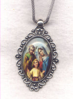 Holy Family Pendant Chain Necklace NCK40
