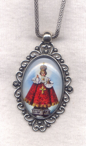 Infant of Prague Pendant Chain Necklace NCK41