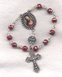 Thorn Crowned Jesus One Decade Pocket Rosary Ecce Homo PKT11