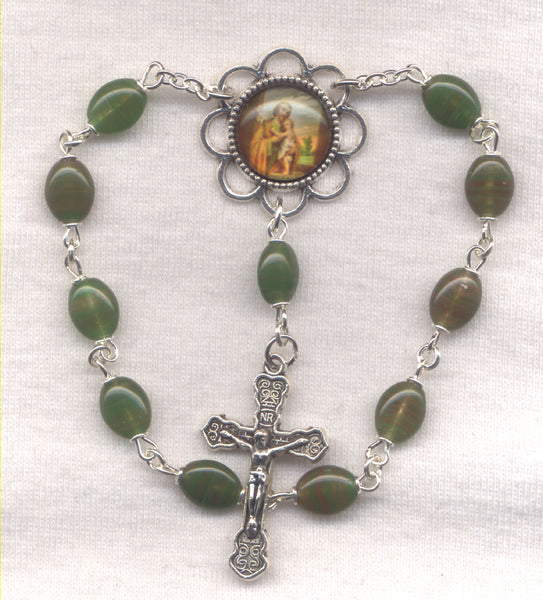 St Joseph One Decade Pocket Rosary PKT18