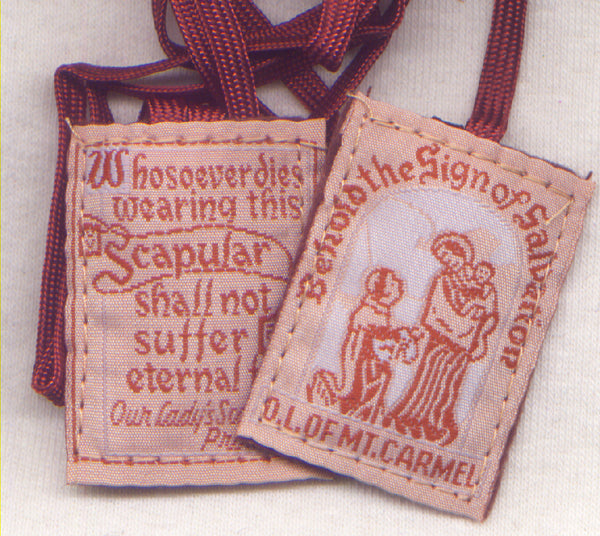 Washable Brown Scapular each