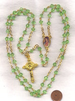 Brigittine Rosary Our Lady of Guadalupe Centre V20 August peridot