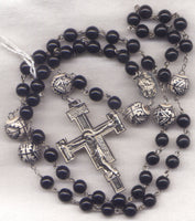 Sacred Heart of Jesus Rosary Byzantine Our Father Beads V36