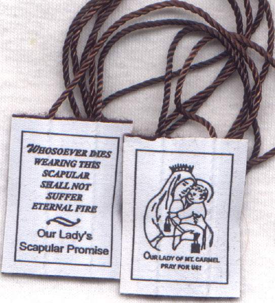 Sturdy Econo Cord Brown Scapular each