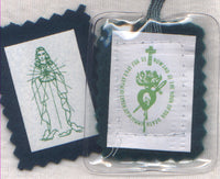 Encased Green Scapular each