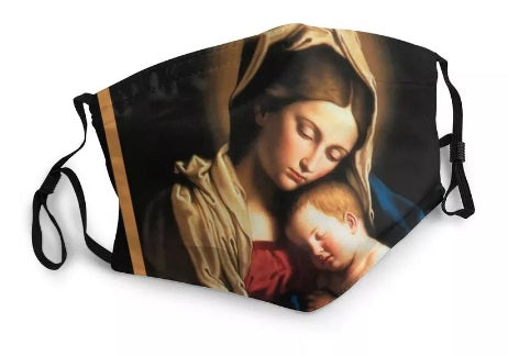 Madonna and Child Washable Face Mask MK21