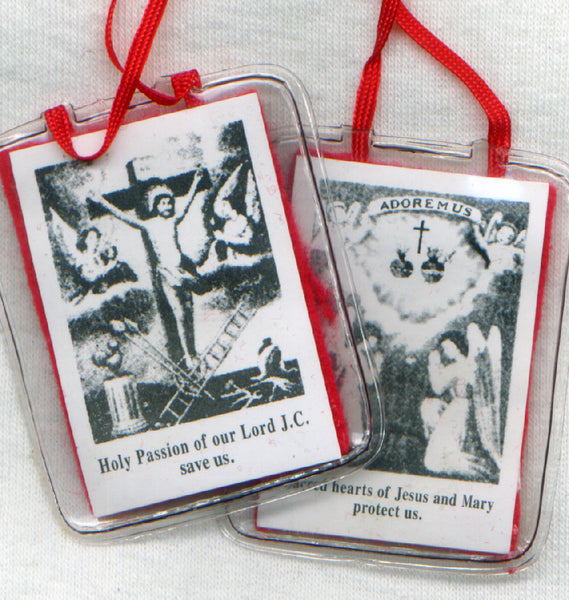 Red Scapular of the Passion of Jesus each