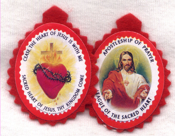 Badge of the Sacred Heart of Jesus each