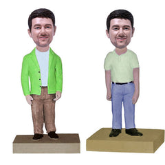 Men's Casual Dress Bobbleheads