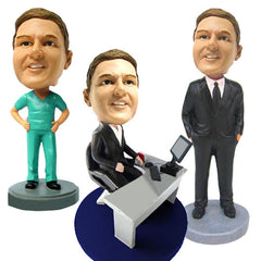 Men's Professional/Business Bobbleheads