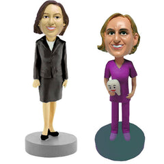 Women's Professional / Business Bobbleheads