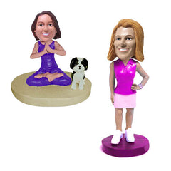 Women's Casual Bobbleheads
