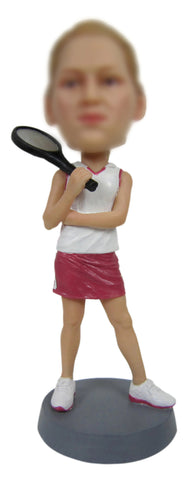 Tennis Player Bobble Head - BHS217